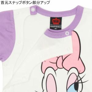SS_SALE50%OFF ディズニー キャラクター ロンパース ベビーサイズ キッズ ベビードール 子供服/DISNEY-0227B