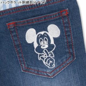 NEW ディズニー ラクガキデニムロングパンツ-ベビーサイズ キッズ ベビードール 子供服/DISNEY-0241K