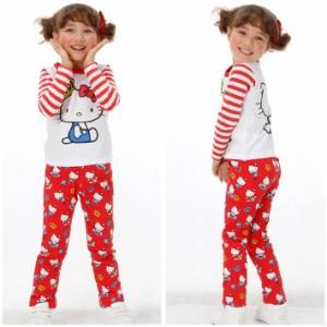 NEW サンリオ キャラクター スウェットロングパンツ ベビーサイズ キッズ ベビードール 子供服-0252K