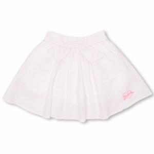 7/20〜SS_SALE50%OFF PINKHUNT ウエストリボン スカート キッズ ジュニア ベビードール 子供服-0425K