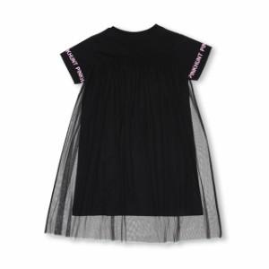 SS_SALE60%OFF PINKHUNT チュール切替 ワンピース キッズ ジュニア ベビードール 子供服-0428K
