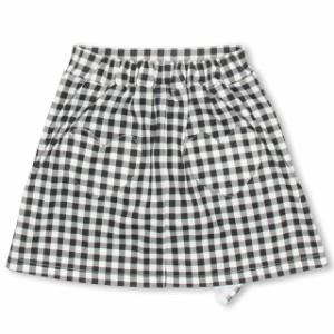 7/20〜SS_SALE50%OFF PINKHUNT ギンガムチェック スカート (トップス別売) キッズ ジュニア ベビードール 子供服-0438K