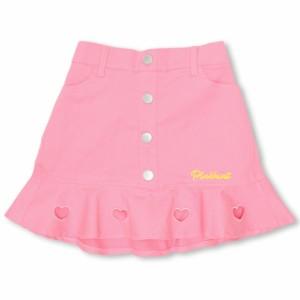 SS_SALE30%OFF PINKHUNT ハートフリル スカート キッズ ジュニア ベビードール 子供服-0442K