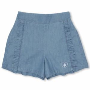 SS_SALE60%OFF PINKHUNT フレアフリル ショートパンツ キッズ ジュニア ベビードール 子供服-0443K
