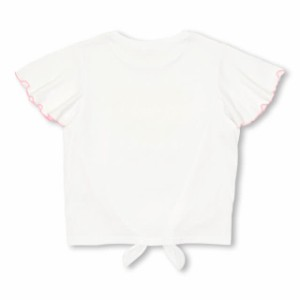 SS_SALE60%OFF PINKHUNT 前絞り Tシャツ キッズ ジュニア ベビードール 子供服-0447K