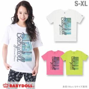 SS_SALE50%OFF 親子ペア サマーフォト Tシャツ 大人 男女兼用 レディース メンズ ベビードール ペアルック 子供服-0553A(XLあり)