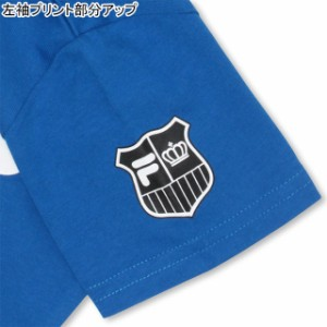 SS_SALE60%OFF 親子ペア FILA ロゴ Tシャツ ベビーサイズ キッズ ベビードール 子供服-0697K