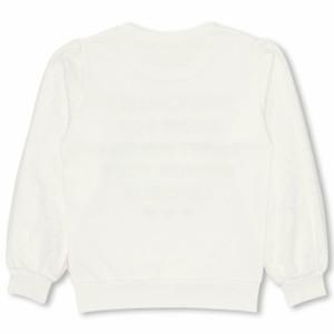 SALE50%OFF アウトレット PINKHUNT 袖チュールトレーナー キッズ ジュニア ベビードール 子供服-0730K