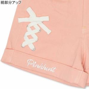 SS_SALE50%OFF PINKHUNT レースアップショートパンツ キッズ ジュニア ベビードール 子供服-0735K
