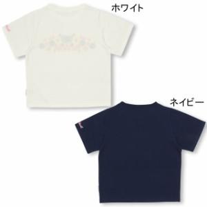 SS_SALE50%OFF PINKHUNT 花刺繍Tシャツ キッズ ジュニア ベビードール 子供服-0739K