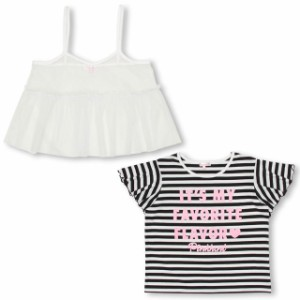 SS_SALE50%OFF PINKHUNT キャミ付きTシャツ キッズ ジュニア ベビードール 子供服-0745K