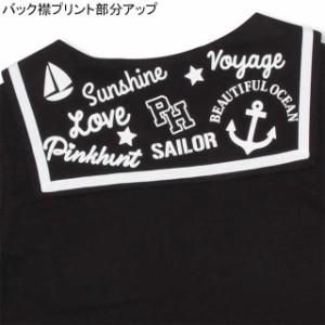 SS_SALE60%OFF PINKHUNT セーラーTシャツ キッズ ジュニア ベビードール BABYDOLL-0748K