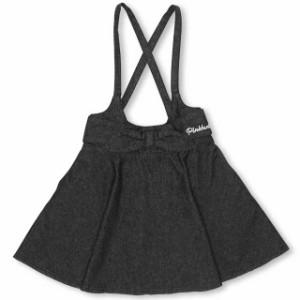 SS_SALE60%OFF PINKHUNT 前リボンジャンパースカート キッズ ジュニア ベビードール BABYDOLL-0756K