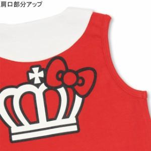 7/20〜SS_SALE50%OFF サンリオ 総柄 ワンピース ベビーサイズ キッズ ベビードール 子供服-0859K