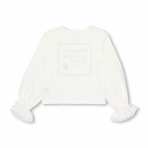 NEW PINKHUNT キャンディ 袖 ロンT 0907K ベビードール BABYDOLL 子供服 キッズ ジュニア 女の子  リボン ガールズ