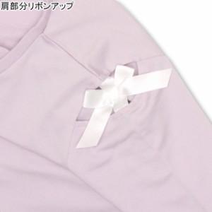 NEW PINKHUNT 肩あき リボン ロンT 0908K ベビードール BABYDOLL 子供服 キッズ ジュニア 女の子  ガールズ