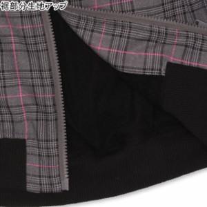 8/20NEW PINKHUNT グレンチェック ジャケット 0911K ベビードール 子供服 キッズ ジュニア 女の子 防寒 チャコール ブラウン