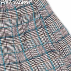 11/8一部再販 NEW PINKHUNT グレンチェック ショートパンツ 0914K ベビードール BABYDOLL 子供服 キッズ ジュニア 女の子