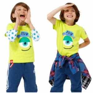 NEW ディズニー フェイス ロンT 0998K ベビードール BABYDOLL 子供服 ベビーサイズ キッズ セット キャラクター コスプレ /DISNEY