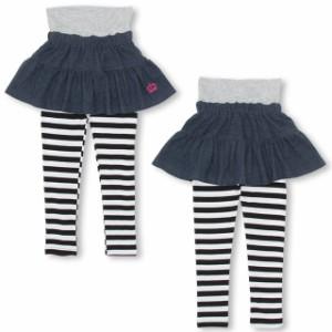 7/6NEW スパッツ付き スカート 1007K ベビードール 子供服 ベビーサイズ キッズ 女の子 スカッツ スカート付きパンツ レギンス