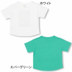 SS_SALE50%OFF 7/2NEW POPロゴ Tシャツ ベビーサイズ キッズ ベビードール 子供服 -1115K