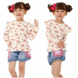 NEW サンリオ デニム ショートパンツ 1184K ベビードール BABYDOLL 子供服 ベビーサイズ キッズ 女の子 バルーン