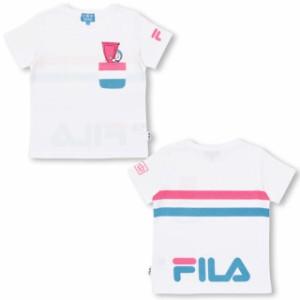 7/4NEW ドラえもん FILA Tシャツ ベビーサイズ キッズ ベビードール 子供服 -1207K