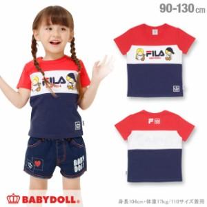 NEW サンリオ FILA パティ&ジミー Tシャツ ベビーサイズ キッズ ベビードール BABYDOLL 子供服 -1211K