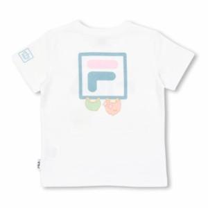 7/4NEW サンリオ FILA キキララ Tシャツ ベビーサイズ キッズ ベビードール 子供服 -1216K