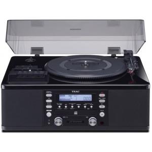 TEAC LP-R550USB-P/PB ピアノブラック [ターンテーブル/カセットプレーヤー付 CDレコーダー]