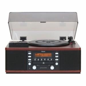 TEAC LP-R550USB-WA ウォルナット [ターンテーブル/カセットプレーヤー付CDレコーダー]
