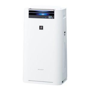 SHARP KI-GS50-W ホワイト系 [加湿空気清浄機 (空気清浄23畳/加湿15畳まで)]