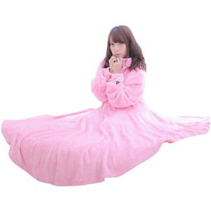 BIBILAB HFK-M-PK ピンク [セルフこたつ着る毛布(サイズM)]