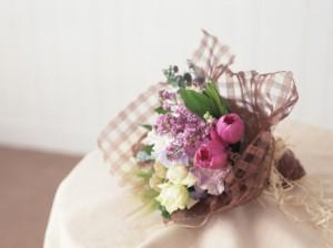 【結婚祝いの花 お祝い 12】父の日 ギフト おまかせ! ナチュラル 花束  花ギフト結婚祝いの花祝い、誕