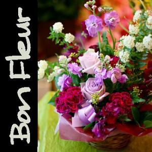 【結婚祝いの花 父の日 31】 おまかせ!パープル系フラワーアレンジメント 花ギフト結婚祝いの