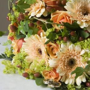 【結婚祝いの花 父の日 59】 おまかせ!ナチュラル フラワーアレンジメント 花ギフト結婚祝い