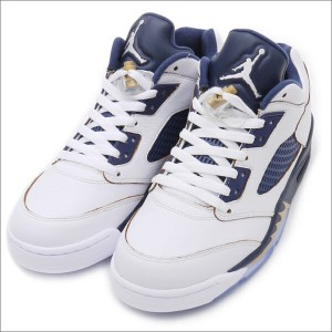 san francisco d2519 ccfaf (新品)NIKE(ナイキ) AIR JORDAN 5 LOW RETRO WHITE METALLIC GOLD