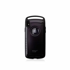 ed31bb111b ルート ROOT CO. iPhone XS MAX専用 GRAVITY Shock Resist Case Pro スマホケース BLACK ブラック