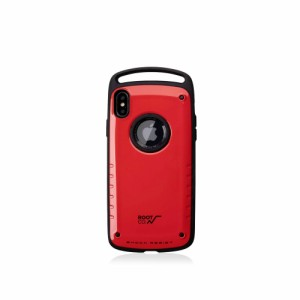 dc992bcc97 ルート ROOT CO. iPhone XS MAX専用 GRAVITY Shock Resist Case Pro スマホケース RED レッド