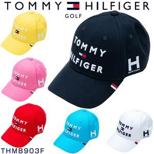 4f4b1d8e2e7 トミーヒルフィガー ゴルフ キャップ トリプルロゴキャップ THMB903F