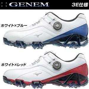 ミズノ ジェネム 008 ボア 3E メンズ ゴルフシューズ 51GM1800