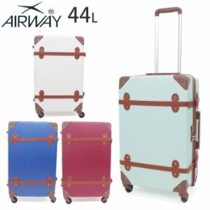 950838120fb キャリーケース かわいい トランク型 AIRWAY キャリーバッグ キャリー レディース スーツケース 全4色 44L