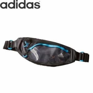 ec128c575b adidas アディダス ウエストポーチ ランニング ボディバッグ メンズ レディース BLACK SHOCYA ECX54 DT3774