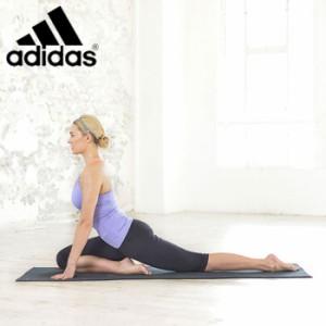 aed22b9c0e6514 adidas アディダス ホットヨガ マット ADYG10680 BK トレーニング ヨガ トレーニングマット トレーニング器具 トレーニング用品