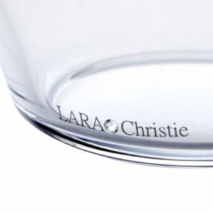 サラダボウル LARA Christie ララクリスティー プラチナ スワロフスキー・クリスタル シーズンズバー 2個セット 送料無料 lh-84-0003p