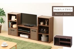モジュールボックス MDB-3S 全5色 全5色 アイリスオーヤマ(※テレビ台のみ。カラーボックスはセットではありません。)