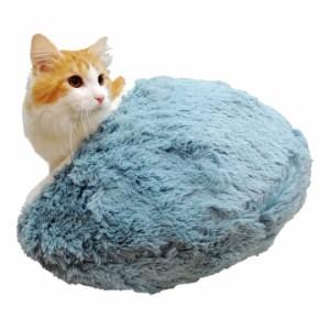 【しろ】 猫 ねころん ベッド ネコ 犬 イヌ (OFT)