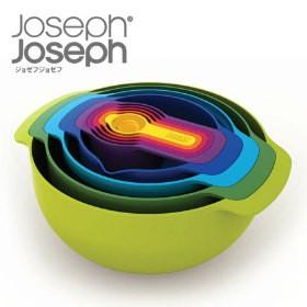 """Joseph Joseph ジョゼフジョゼフ NEST9 Plus ネスト9プラス ザル ジョセフジョセフ ( ボウル )"""
