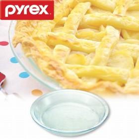 """PYREX(パイレックス) パイプレート 25cm ( 耐熱ガラス 強化ガラス パイ皿 )"""