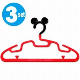 ティーンズハンガー ミッキーマウス 3本組 ( レデイースハンガー )